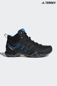adidas Black Terrex Swift R2 Mid GTX