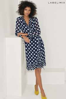 Mix/Kitri Studio Wrap Dress