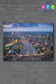 London by Jason Hawkes Canvas