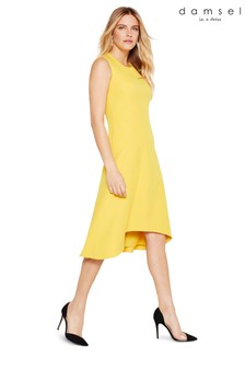 Damsel In A Dress Yellow Camilla Sleeveless Dress