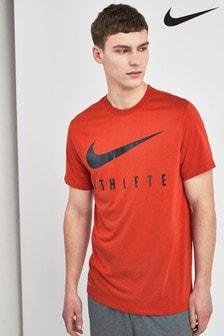 Nike Red Dri-FIT Athlete Tee
