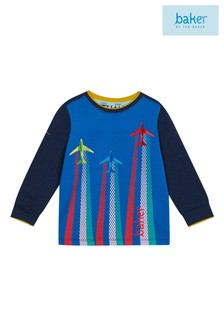 baker by Ted Baker Toddler Boys Airplane Printed Sweat Top
