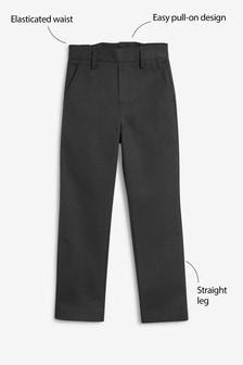Зауженные брюки без застежек (3-12 лет)