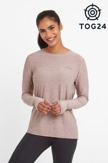 Tog 24 Pink Coulby Womens Long Sleeve Tech T-Shirt