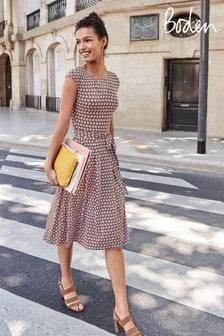 Boden Pink Esmeralda Jersey Dress