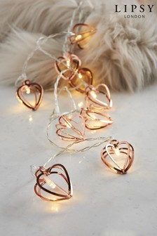 Lipsy Heart Line Lights