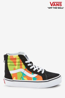 Vans Youth Black Camo SK8 High Trainer