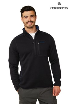 Craghoppers Blue Etna Half Zip Top