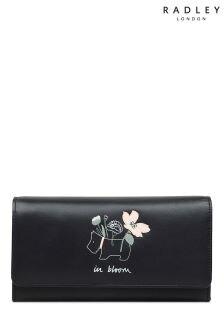 Radley Black Large Flap Over Matinee Bag