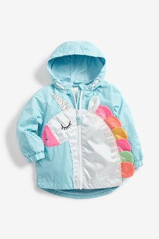 Unicorn Appliqué Jacket (3 мес.-7 лет)