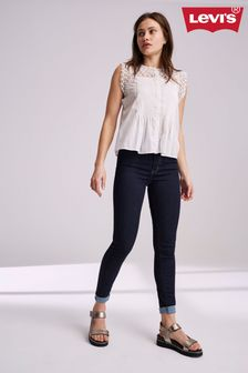 Levi's® Mile High – Super-Skinny Jeans in dunkler Waschung