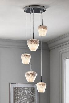 Monroe 5 Light Cluster