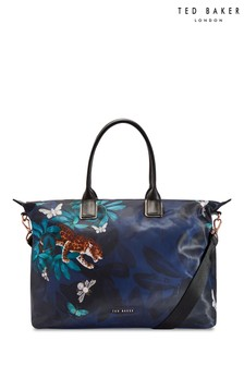 Ted Baker Navy Large Tote Bag