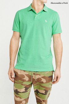 Abercrombie & Fitch Mint Core Polo Tee