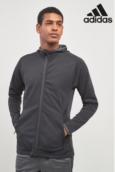 adidas Gym Grey Zip Through Hoody