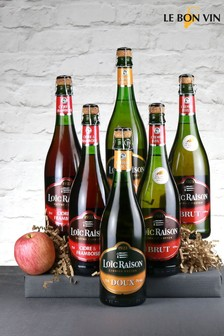 Le Bon Vin French Cidre Mixed Half Case