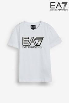 Emporio Armani EA7 Boys Large Logo T-Shirt