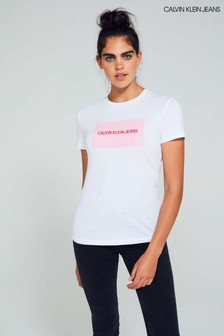 81d85619d1 Womens Calvin Klein Tops | Long & Short Sleeve Tops | Next UK