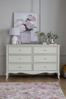 Ophelia 6 Drawer Wide Chest