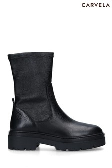 Carvela Black Sincere Ankle Boots