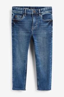 Raw Hem Skinny Jeans (3-16yrs)