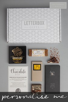 Personalised Chocolate Gift Set by Letterbox Gifts