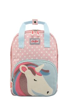 Cath Kidston® Pink Spot Novelty Medium Unicorn Backpack