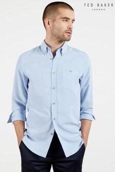Ted Baker Blue Piktur Oxford Shirt