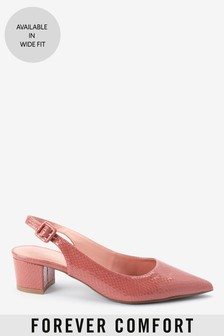 Point Block Slingbacks