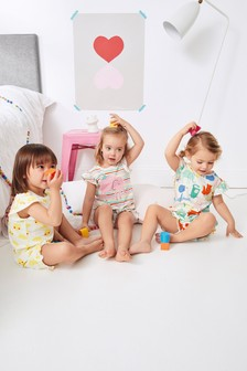 Character Short Pyjamas Three Pack (9mths-8yrs)