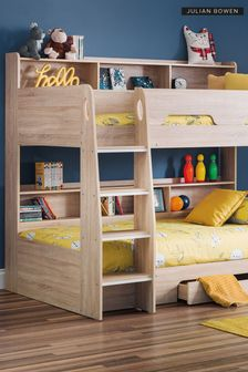 Julian Bowen Grey Oak Storage Bunk Bed