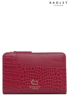 Radley Claret Medium Zip Top Purse