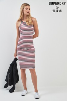 Superdry Multi Stripe Bodycon Dress