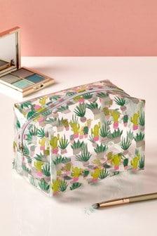 Cactus Cosmetic Bag