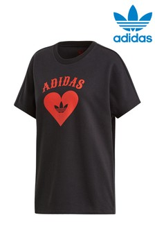 adidas Originals Valentines Black Tee