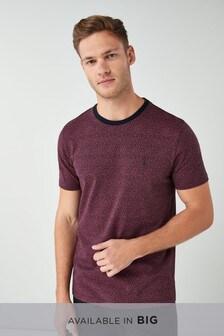 Small Paisley Print T-Shirt