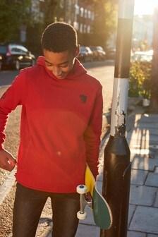 Sudadera con capucha y eslogan (3-16 años)