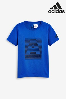 adidas Blue Logo Tee