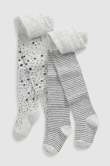 Star And Stripe Tights Two Pack (Younger)