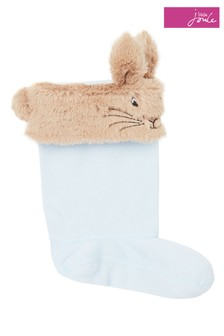 Joules Blue Topsy Welly Sock