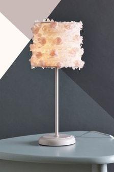 Rose Ruffle Table Lamp