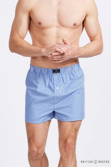 British Boxers Made In England Striped Boxer Short