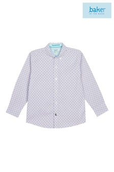 baker by Ted Baker Younger Boys Cotton Formal Shirt