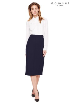 Damsel In A Dress Blue Isabella City Suit Skirt