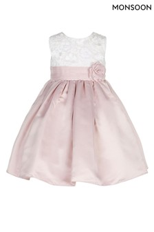 Monsoon Baby Pink Enola Dress