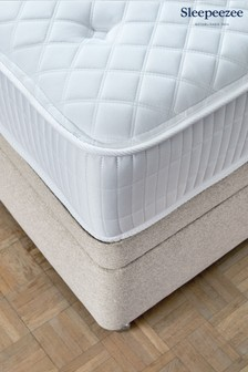 1200 Gel Mattress Divan Set By Sleepeezee