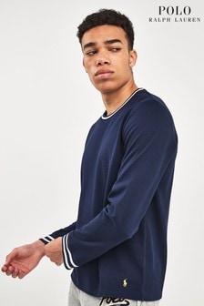Polo Ralph Lauren® Navy Tipped Top