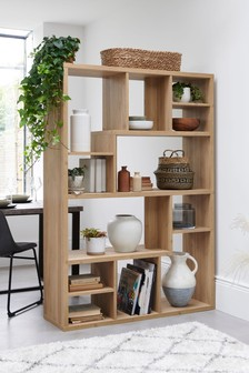 Oak Display Shelf