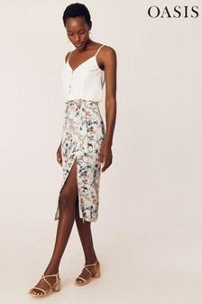 Oasis Natural Mellow Meadow Skirt
