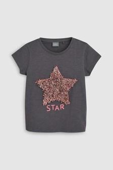 Футболка со звездой и конфетти (3 мес.-7 лет)